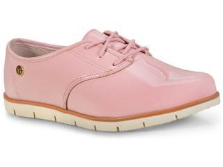 Sapato Feminino Moleca 5613304 Rosa/branco/camel - Tamanho Médio