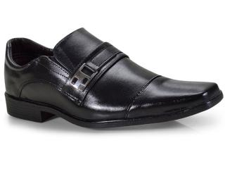 Sapato Masculino Ped Shoes 46900-a Preto - Tamanho Médio