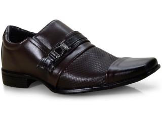 Sapato Masculino Ped Shoes 50904-b Café - Tamanho Médio