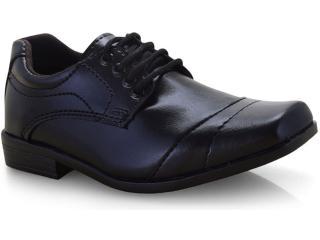 Sapato Masc Infantil Ped Shoes 204 Inf Preto - Tamanho Médio