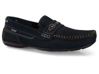 Sapato Masculino Pegada 140722-06 Marinho - Tamanho Médio