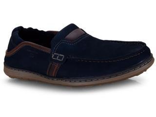 Sapato Masculino Pegada 141101-09 Marinho/coffe - Tamanho Médio