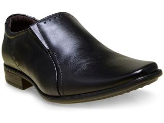 Sapato Masculino Pegada 22060-01 Preto - Tamanho Médio