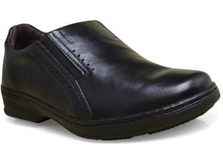 Sapato Masculino Pegada 21211-01 Preto - Tamanho Médio