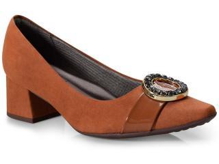 Sapato Feminino Piccadilly 744057 Amendoa - Tamanho Médio