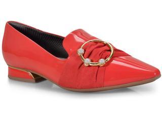 Sapato Feminino Piccadilly 278001 Vermelho - Tamanho Médio