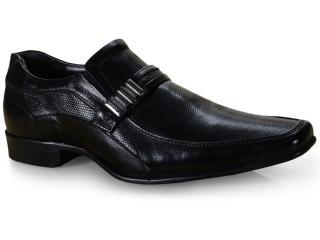 Sapato Masculino Rafarillo 34011-00p Preto Kit Cinto+meia - Tamanho Médio