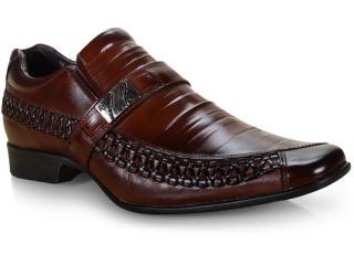 Sapato Masculino Rafarillo 79308-01 Mogno - Tamanho Médio