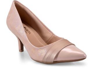 Sapato Feminino Ramarim 17-26202 Quartz Rosa - Tamanho Médio