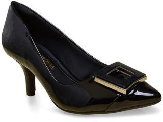 Sapato Feminino Ramarim 16-26204 Preto - Tamanho Médio