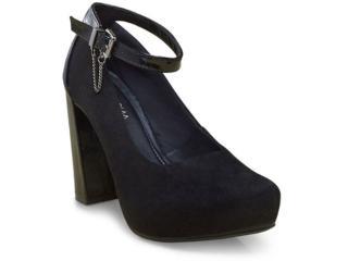 Sapato Feminino Ramarim 17-40103 Preto - Tamanho Médio