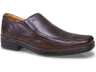 Sapato Masculino Sollu 11628 Café - Tamanho Médio
