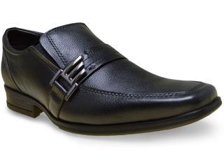 Sapato Masculino Sollu 16518 c/ Kit Preto - Tamanho Médio