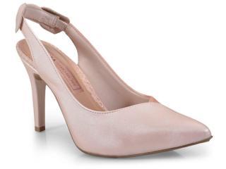 Sapato Feminino Tanara T1748 Cream - Tamanho Médio