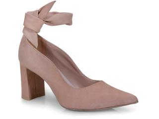 Sapato Feminino Tanara T2405 Nozes - Tamanho Médio