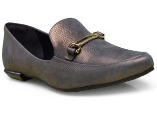 Sapato Feminino Tanara 1424 Bronze - Tamanho Médio