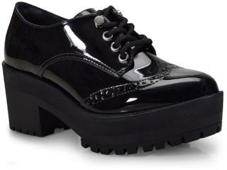 Sapato Feminino Via Marte 18-5501 Preto - Tamanho Médio