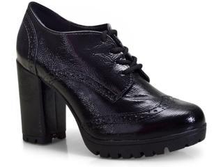 Sapato Feminino Via Marte 18-4408 Preto - Tamanho Médio