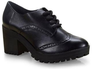 Sapato Feminino Via Marte 19-6507 Preto - Tamanho Médio
