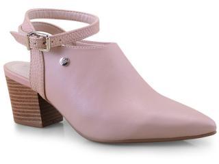 Sapato Feminino Via Marte 19-9909 Amendoa - Tamanho Médio