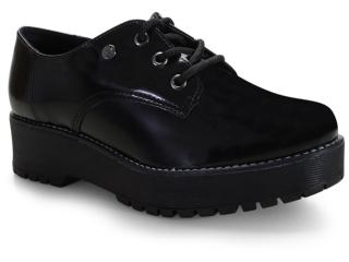 Sapato Feminino Via Marte 20-7305 Preto - Tamanho Médio