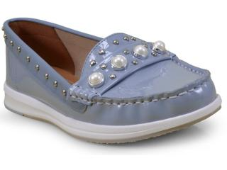 Sapato Feminino Vizzano 1268102 Azul - Tamanho Médio