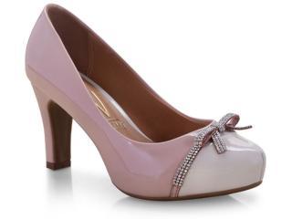 Sapato Feminino Vizzano 1840113/2 Rosa/creme - Tamanho Médio