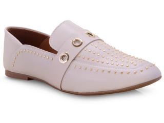 Sapato Feminino Vizzano 1313100 Creme - Tamanho Médio