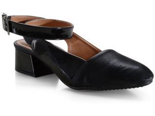 Sapato Feminino Vizzano 1346106 Preto - Tamanho Médio
