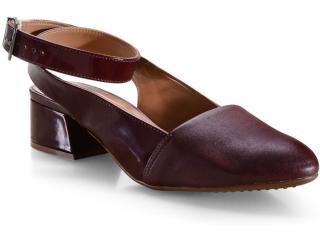 Sapato Feminino Vizzano 1346106 Vinho - Tamanho Médio