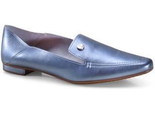 Sapato Feminino Vizzano 1351100 Jeans Metalizado - Tamanho Médio