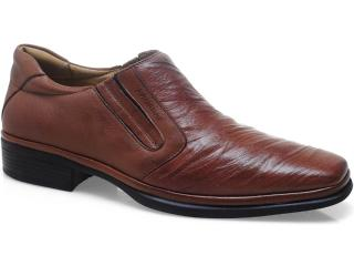 Sapato Masculino Sapatoterapia 10834 Conhaque - Tamanho Médio