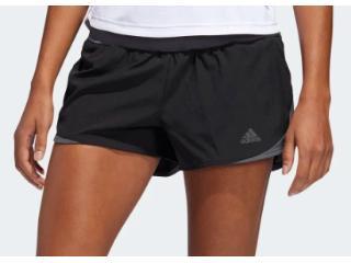 Short Feminino Adidas Dq2595 Run it w Preto - Tamanho Médio