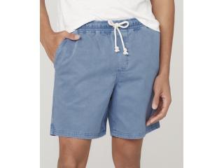 Short Masculino Dzarm Zc5d Az2sn Azul Jeans - Tamanho Médio