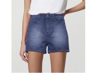 Short Feminino Hering Hb74 1esn  Jeans - Tamanho Médio