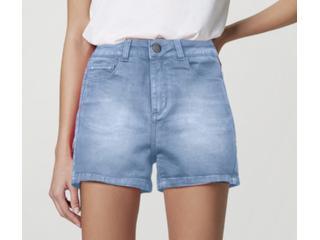 Short Feminino Hering Hb74 1fsn  Jeans Claro - Tamanho Médio