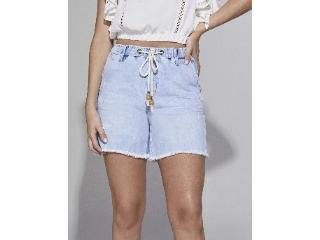 Short Feminino Lado Avesso L114151 Jeans - Tamanho Médio