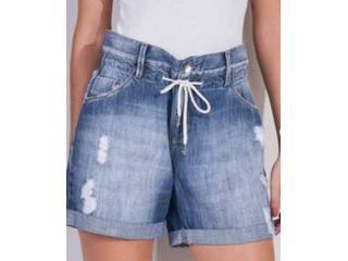 Short Feminino Lado Avesso L113185 Jeans - Tamanho Médio