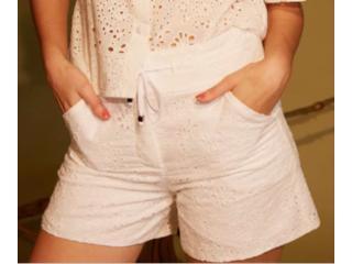 Short Feminino Lafort E21v536 Off White - Tamanho Médio