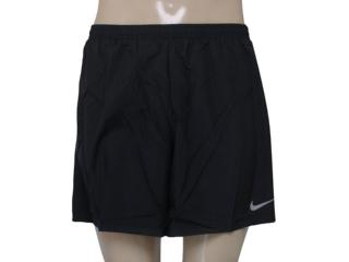 Short Masculino Nike 644236-010 Challenger  Preto - Tamanho Médio
