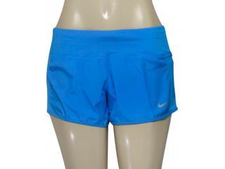 Short Feminino Nike 719558-435 Dry Running   Azul - Tamanho Médio