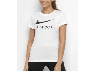 T-shirt Feminino Nike Ci1383-100 Sportwears  Branco - Tamanho Médio