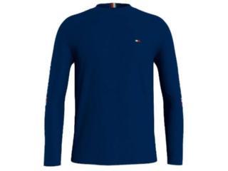Camiseta Masculina Tommy  Thmw0mw19208 Thdw5 Marinho - Tamanho Médio
