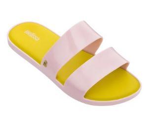 Tamanco Feminino Melissa 32799 50839 Color Pop Rosa/amarelo - Tamanho Médio