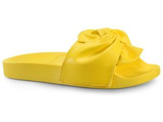 Tamanco Feminino Moleca 5414144 Amarelo - Tamanho Médio