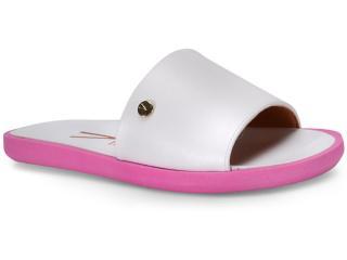 Tamanco Feminino Vizzano 6363105 Branco/pink Neon - Tamanho Médio