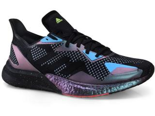 Tênis Masculino Adidas Eh0057 X9000 Boost l3 m  Preto/azul - Tamanho Médio