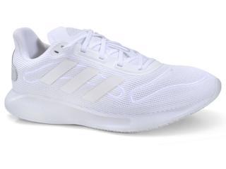 Tênis Feminino Adidas Fv4734 Galaxar Run Branco - Tamanho Médio