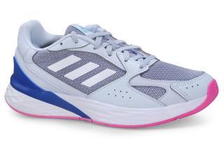 Tênis Feminino Adidas Fy9590 Response Classic Azul Claro/rosa - Tamanho Médio