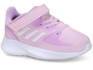 Tênis Fem Infantil Adidas Fz0097 Runfalcon 2.0 Lilas - Tamanho Médio